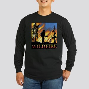 Wildfire Long Sleeve Dark T-Shirt