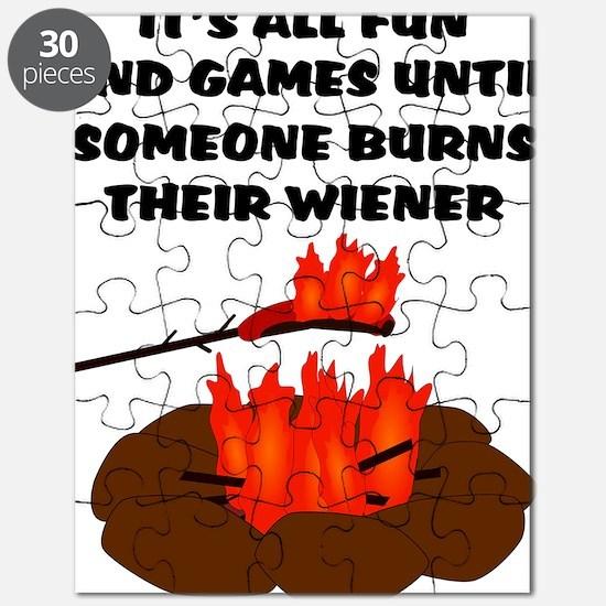 Wiener Burn Puzzle