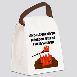 Wiener Burn Canvas Lunch Bag