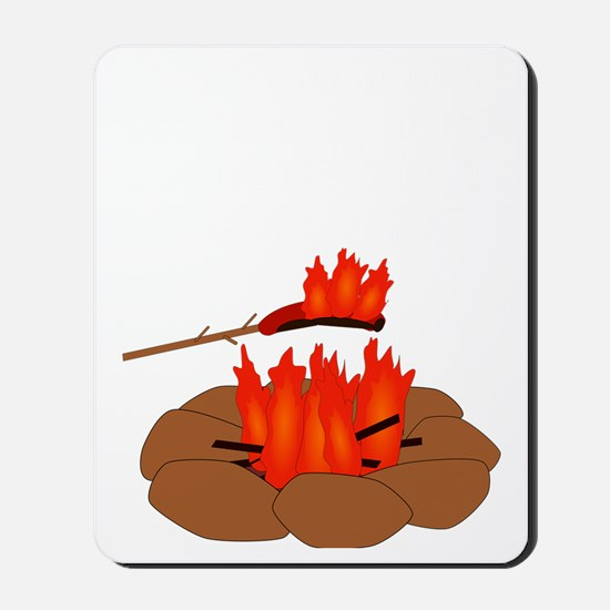 Wiener Burn Dark Mousepad