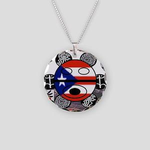 BORICUA LEGENDS T SHIRT 12 Necklace Circle Charm