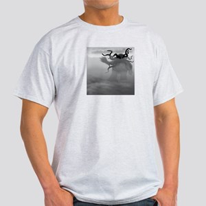 Cthulhu Walking Ash Grey T-Shirt