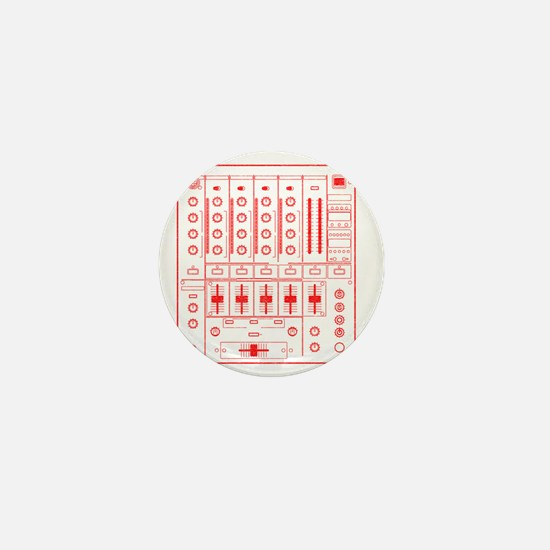 mixer-lrg-red-worn Mini Button