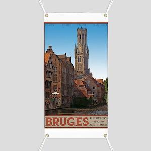 Bruges - The Belfry Banner