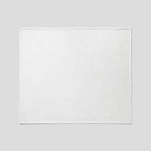 White Paint Splatter Throw Blanket