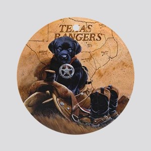 crowe-crote3texas ranger666 Round Ornament