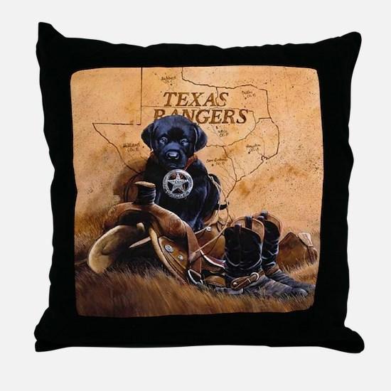 crowe-crote3texas ranger666 Throw Pillow