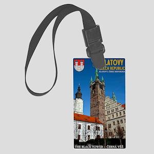Klatovy - The Black Tower Large Luggage Tag
