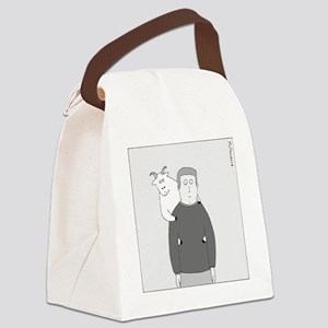 Back Goat - no text Canvas Lunch Bag
