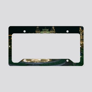 Monte Carlo Casino at Night License Plate Holder