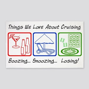 ThingsWeLoveAboutCruising 3'x5' Area Rug