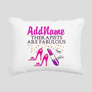 BEST THERAPIST Rectangular Canvas Pillow