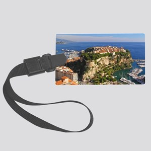 Monaco Castle Large Luggage Tag