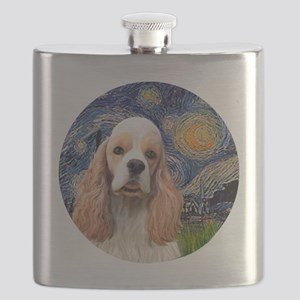 J-ORN-Starry-Cocker-RW2 Flask