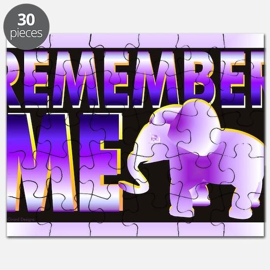 Remember Me Puzzle
