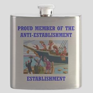 ANTI-ESTABLISHMENT TEA PARTY Flask