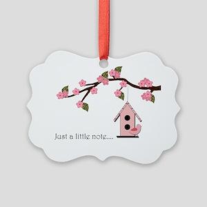 birdhouse2 Picture Ornament