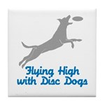 Disc Dog (2) Tile Coaster