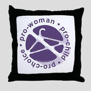 PCPCircle2 Throw Pillow