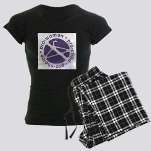 PCPCircle2 Women's Dark Pajamas