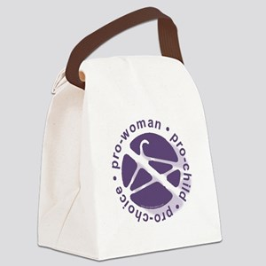 PCPCircle2 Canvas Lunch Bag