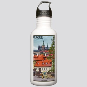 Prague - St Vitus and  Stainless Water Bottle 1.0L