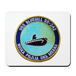 USS BLUEGILL Mousepad