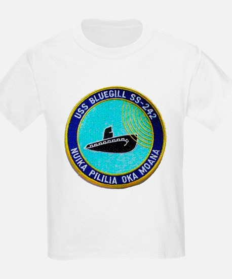 USS BLUEGILL Kids T-Shirt
