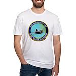 USS BLUEGILL Fitted T-Shirt