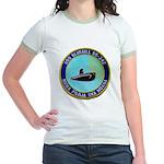 USS BLUEGILL Jr. Ringer T-Shirt