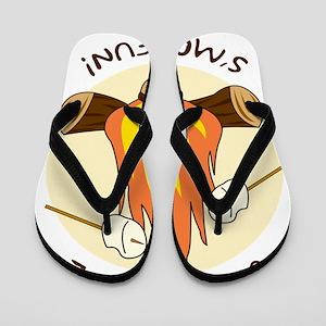 GirlsSmoreFun Flip Flops