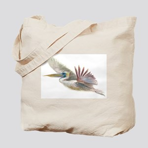 pelican flight & perch Tote Bag