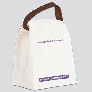PCPlicenseplateframe Canvas Lunch Bag