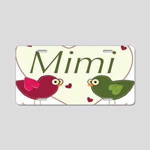 mimilovebirds Aluminum License Plate