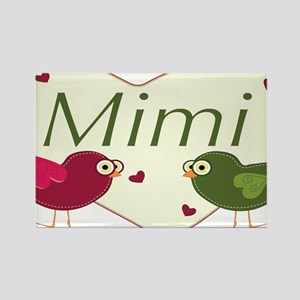 mimilovebirds Rectangle Magnet