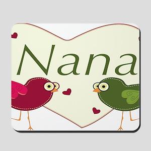 nanalovebirds Mousepad