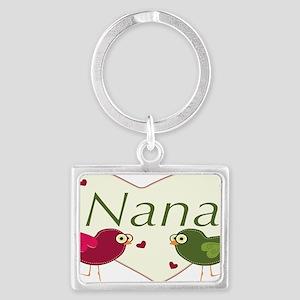 nanalovebirds Landscape Keychain