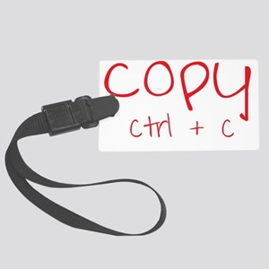 copy_red Large Luggage Tag