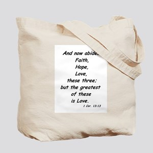 Love Is Patient And Kind 1cor13:4-8a Tote Bag
