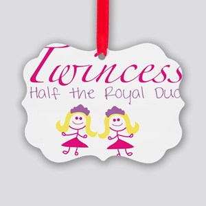 twincesswithgirls Picture Ornament