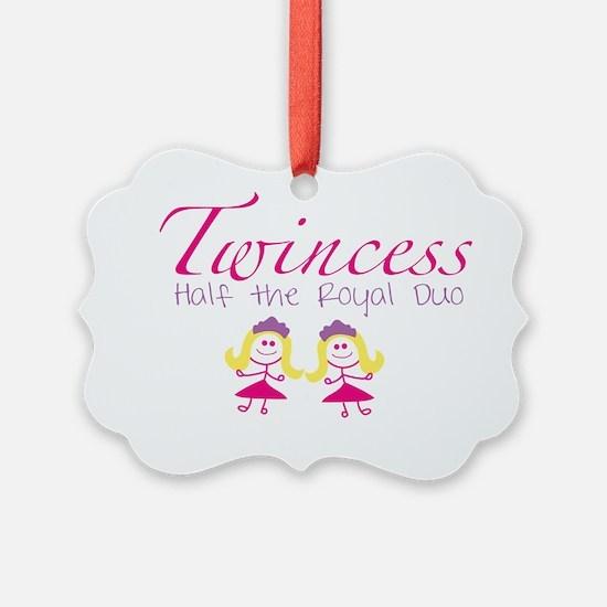 twincesswithgirls Ornament