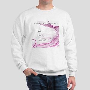 quit smoking journal Sweatshirt