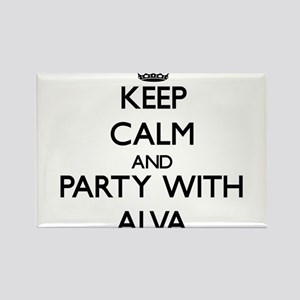 Keep Calm and Party with Alva Magnets