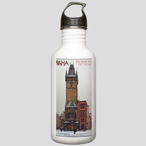 Prague Old Town Hall Stainless Water Bottle 1.0L
