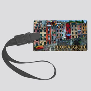 Riomaggiore Waterfront Large Luggage Tag