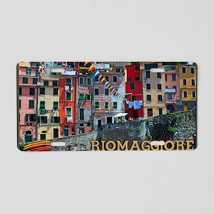 Riomaggiore Waterfront Aluminum License Plate