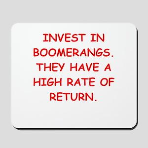 boomerang Mousepad