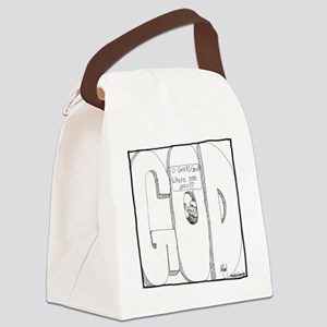 God, Where Are You? Canvas Lunch Bag