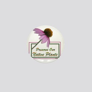 Native Plants Mini Button