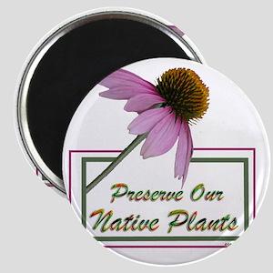 Native Plants Magnet